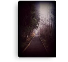 Road Less Traveled. Canvas Print