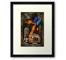 Steampunk - Alphabet - Z is for Zoology Framed Print