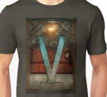 Steampunk - Alphabet - V is for Victorian Unisex T-Shirt