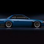 s13 Silvia Metal Print - LIMITED by axesent
