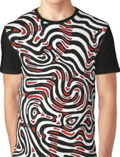 Fossils - Red Graphic T-Shirt