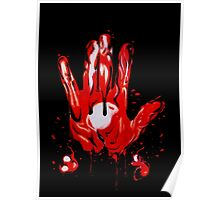 Blood Hand Poster