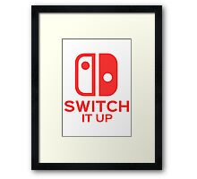 Switch It Up (Inverted) Framed Print
