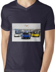 Lamborghini Miura, Murcielago SV & Aventador SV Mens V-Neck T-Shirt