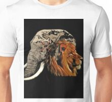~africa in white~ Unisex T-Shirt