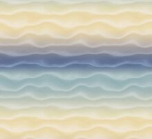 Pastel Dunes No.1 by tee-fury