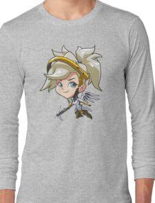 Overwatch- Mercy Cute Spray Long Sleeve T-Shirt