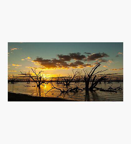 Menindie Lakes, NSW, Australia Photographic Print