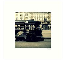 Black Subway in Zagreb Croatia Art Print