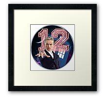 Doctor 12th Framed Print
