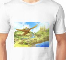 Flying On Polly Over an Enchanted Land Unisex T-Shirt