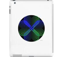 sdd Heart blue green Fractal 2C iPad Case/Skin