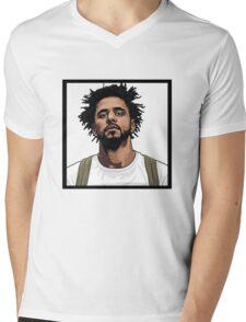 J Cole Mens V-Neck T-Shirt