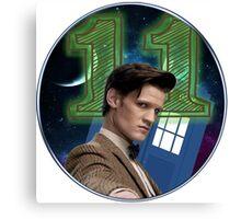 Doctor 11th T-Shirt Canvas Print