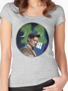 Doctor 11th T-Shirt Women's Fitted Scoop T-Shirt