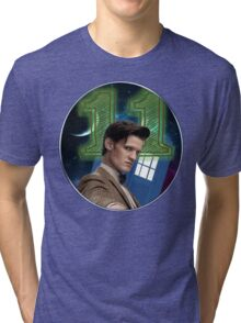 Doctor 11th T-Shirt Tri-blend T-Shirt