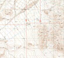 USGS TOPO Map California CA Valjean Hills 102541 1983 24000 geo Sticker