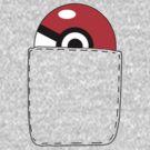 Pokeball Pocket by theJackanape