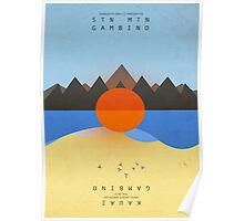 Childish Gambino's STN MTN/KAUAI (artwork) Poster