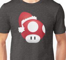 Super Mario Power Up Christmas Mushroom Unisex T-Shirt