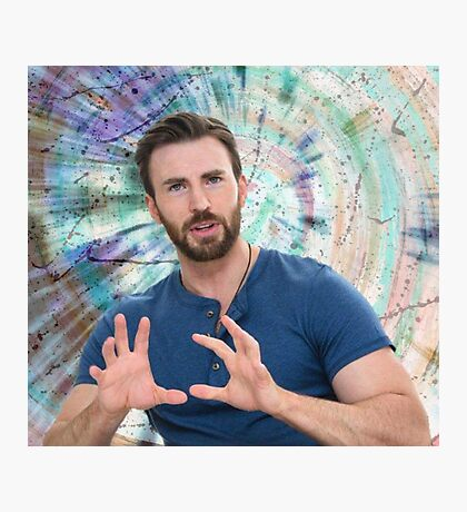ChrisEvans01 Photographic Print