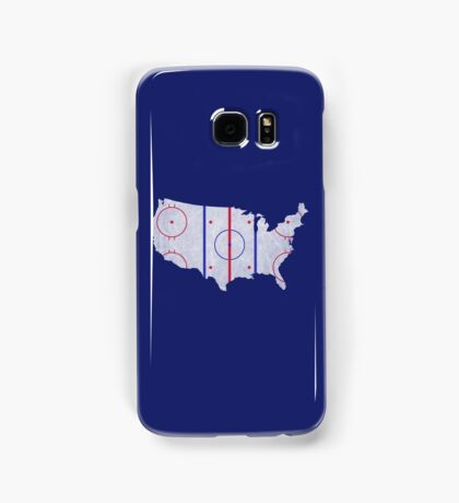 USA Hockey Pride Map Samsung Galaxy Case/Skin