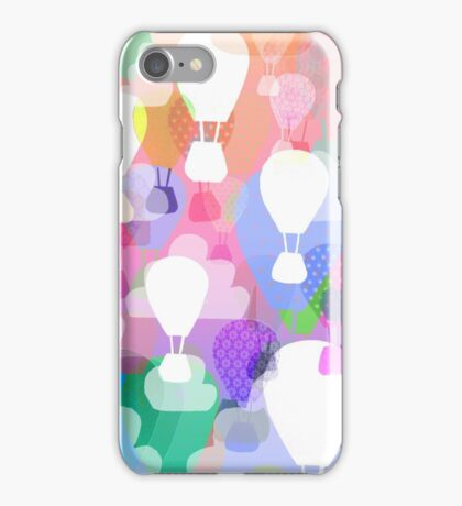 Hot air balloons iPhone Case/Skin