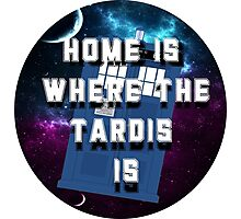 Home Is Where The Tardis Is Photographic Print
