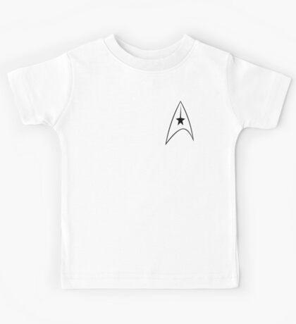 Star Trek Captain's Emblem Kids Tee