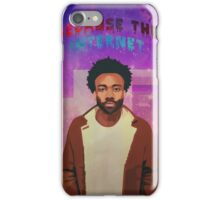 Alternate Because The Internet album cover iPhone Case/Skin