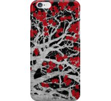 Red Heart Tree iPhone Case/Skin