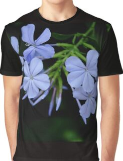 Delightful Plumbago Graphic T-Shirt
