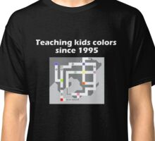 Teaching Kids Colors Since 1995 - Pokemon Kanto Map Classic T-Shirt