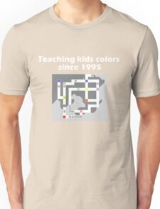 Teaching Kids Colors Since 1995 - Pokemon Kanto Map Unisex T-Shirt