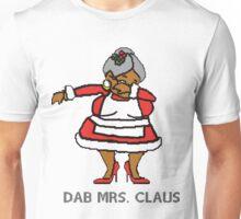 Dabbing Mrs. Claus Unisex T-Shirt