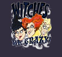 Witches Be Crazy Zipped Hoodie