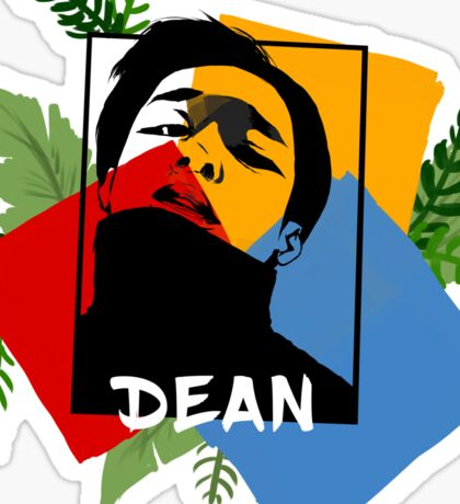 Dean Primary Tropical Print Ver. 1 Sticker