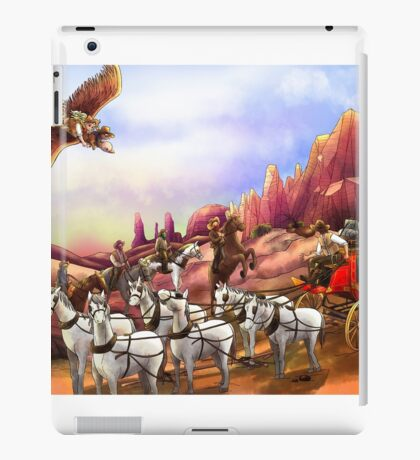 The Stagecoach Robbery iPad Case/Skin