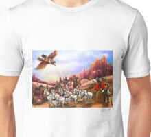 The Stagecoach Robbery Unisex T-Shirt
