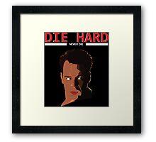 Die Hard - Never Dies! Framed Print