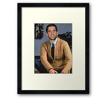 Mister Rodgers Neighborhood Framed Print