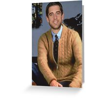 Mister Rodgers Neighborhood Greeting Card