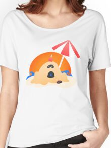 Hano Beach - Pokemon SUN and MOON Shirt Design Women's Relaxed Fit T-Shirt