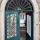 Open door to a closed door by Arie Koene