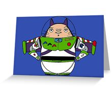TotoBuzz Lightyear Greeting Card