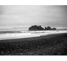 Sea Stack off First Beach.  Photographic Print