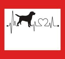 Labrador Heartbeat Baby Tee