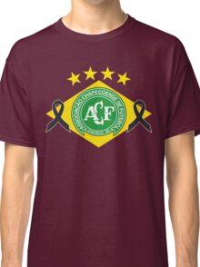 tribute to chapecoense football team brazil Classic T-Shirt