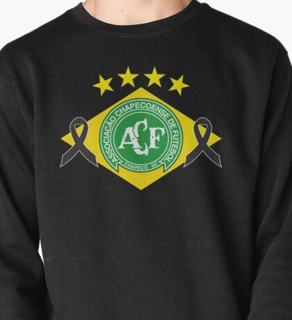 tribute to chapecoense football team brazil Pullover