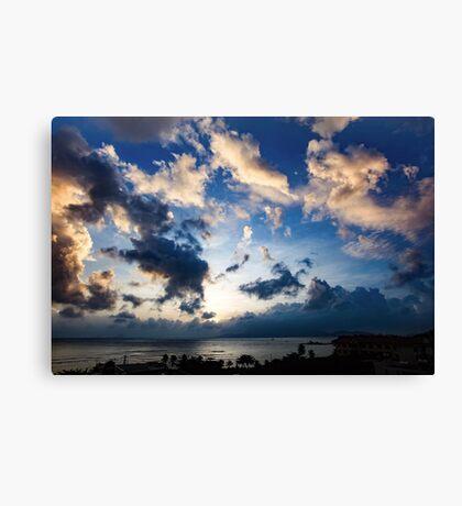 Morning Sky Vietnam Canvas Print